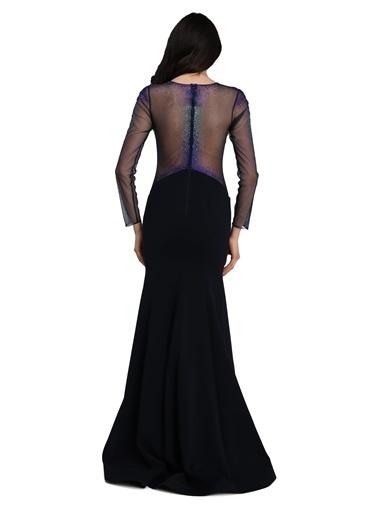 Pierre Cardin Uzun Abiye Elbise Lacivert